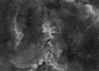 Melotte 15 in Hydrogen-Alpha Light | by pete_xl