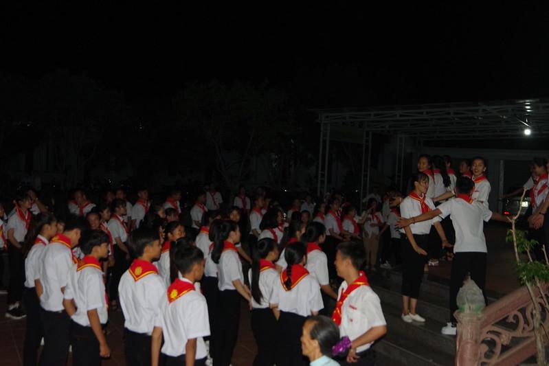 Lễ ra mắt TNTT xứ  đoàn Đa Minh Tân Phong, QB (25)