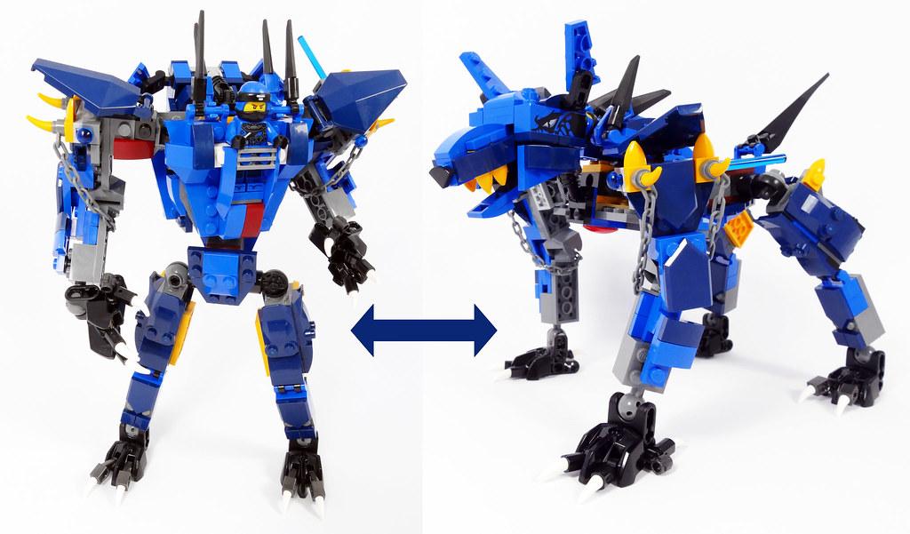 Jay's Werewolf Mech - Lego Ninjago 70652 Alternate MOC | Flickr