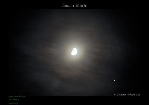 Luna e Marte | by AstroBetta