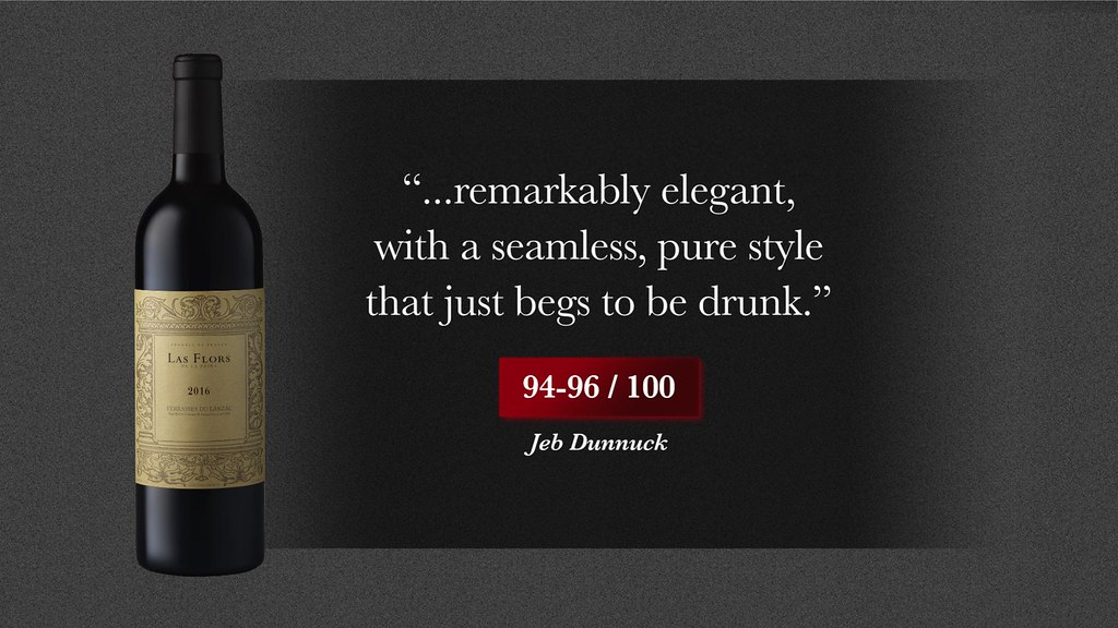 "La Peira 2016: ""Up with the finest vintages of this cuvée and a candidate for perfection"" 97-99/100 Jeb Dunnuck La Peira"