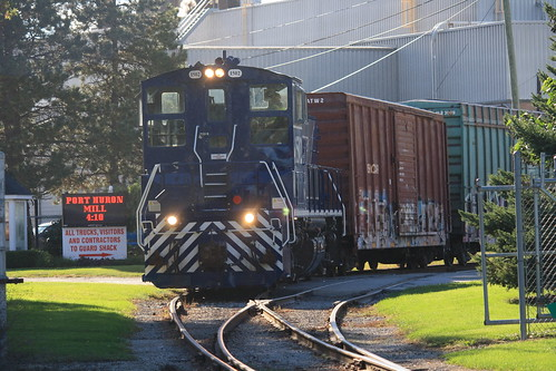Lake State switching Domtar - Port Huron, MI   by tcamp7837