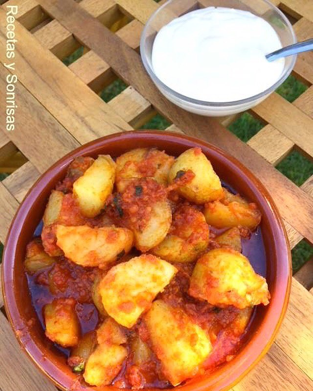 Patatas Con Sobrasada Y Allioli Isabel Darna Galobart Flickr