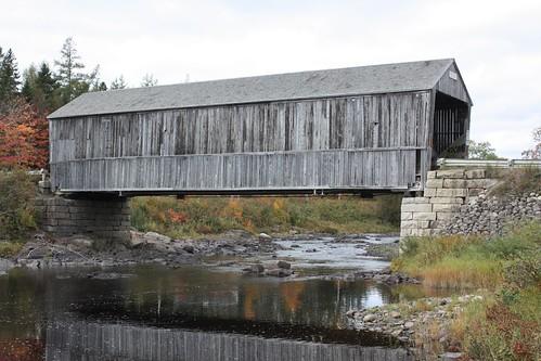 rollingdam whittierridge newbrunswick canada bridge coveredbridge