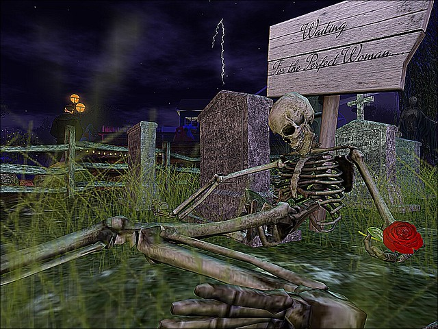 Southern Roots Haunted Halloween - ... Just Waiting On A Friend....