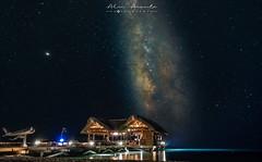 Lobsterhouse under the Milky-way.Follow me on Instagram. @AlvinAarnoutsePhotography
