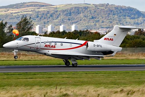 dbfil embraer emb emb545 legacy legacy450 atlasairservice bhd egac belfastcityairport airliner aircraft aviation bizjet corporate executive