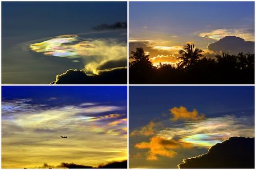 clouds sky chennai iridescence nikon d7100 70200mmf28 colors beauty nature sunset sun vibgyor