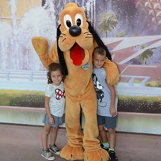 Today is Epcot day! We started with Pluto | by auley
