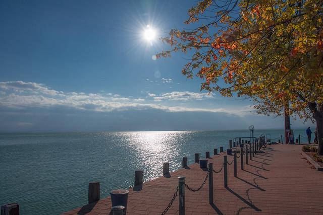 Lake balaton / Autumn