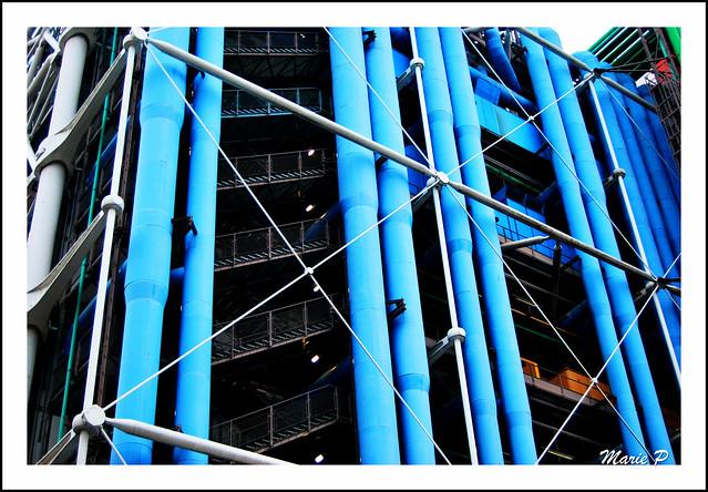 Centre national Georges Pompidou, Beaubourg. Paris.