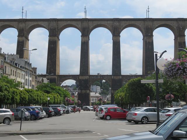Bretagne - Brittany. The viaduct (viaduc) of Morlaix