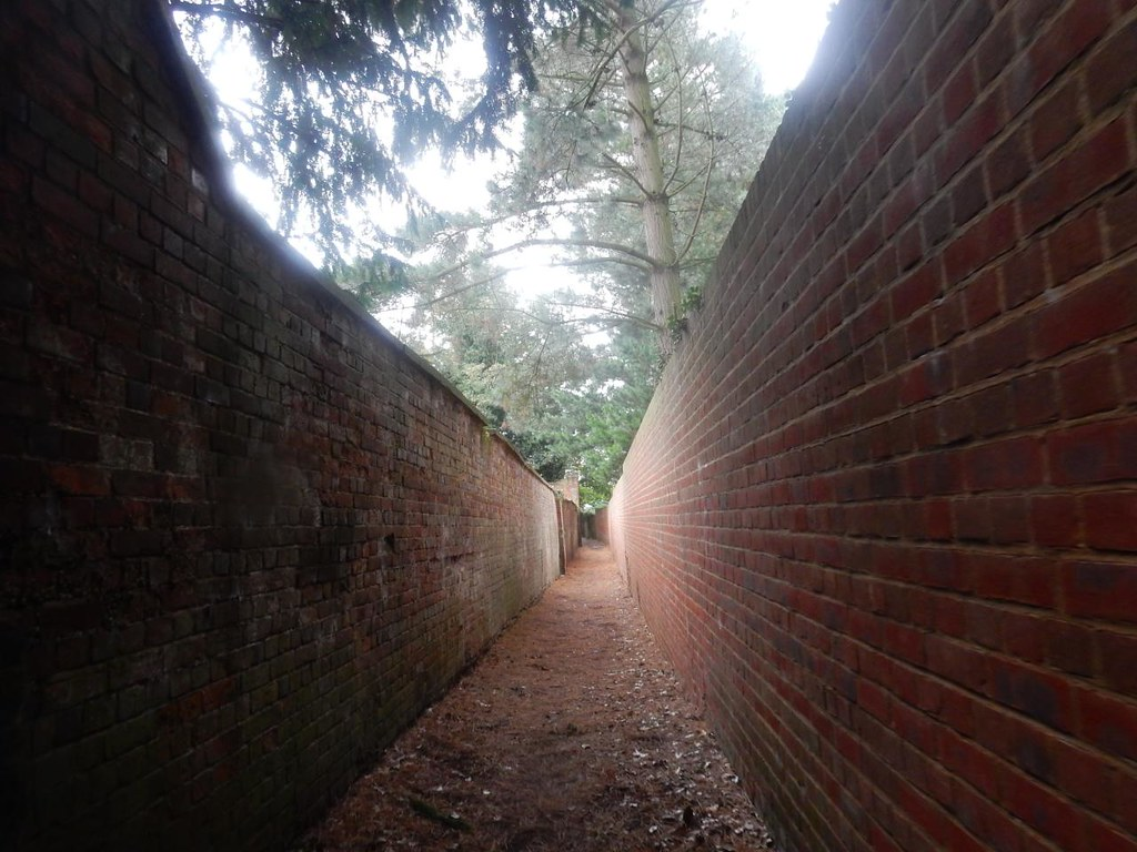 Between walls Oxted Circular
