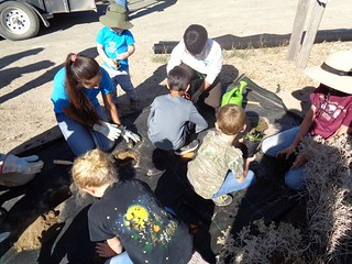 Kids Planting | by Nevada Outdoor School