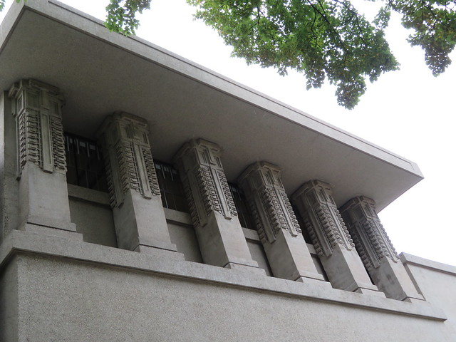 Unity Temple: architect Frank Lloyd Wright