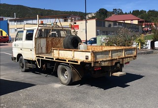 This ex Tasrail and ex West Coast Wilderness Railway gang truck is our newest acquisition. Whilst it looks rough it is mechanically sound. It was driven from Queenstown to Hobart on Saturday 13 October. | by Transport Museum