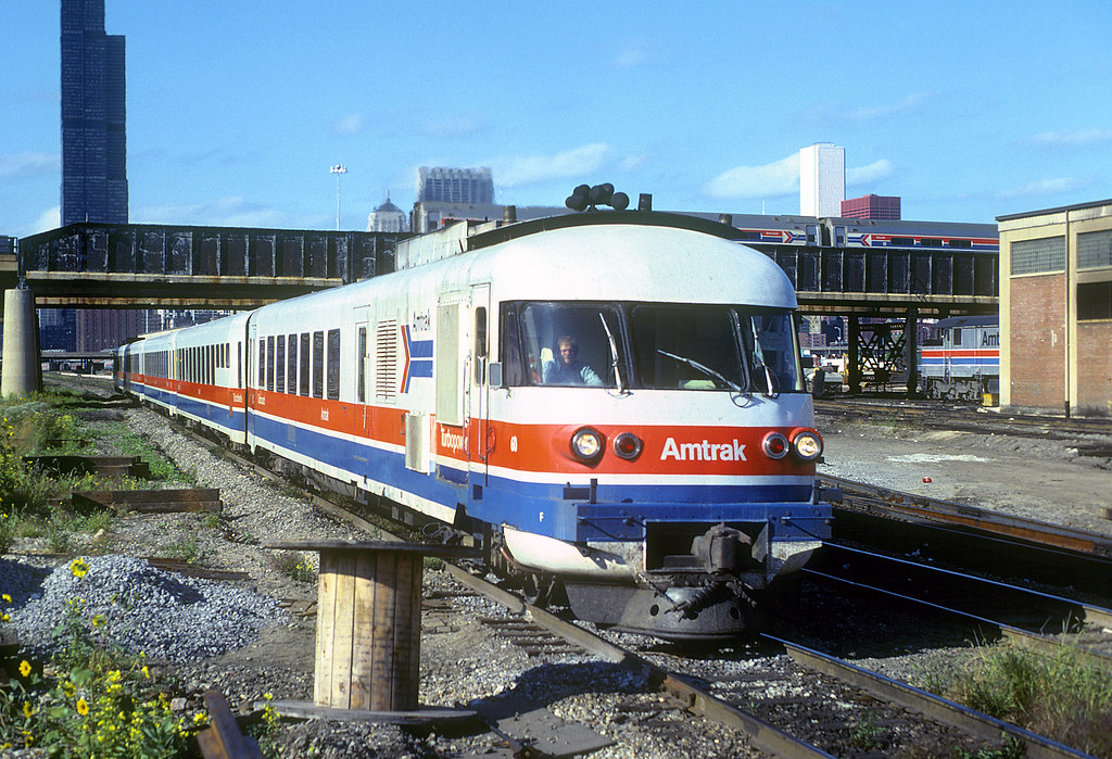 Amtrak Turboliner 60