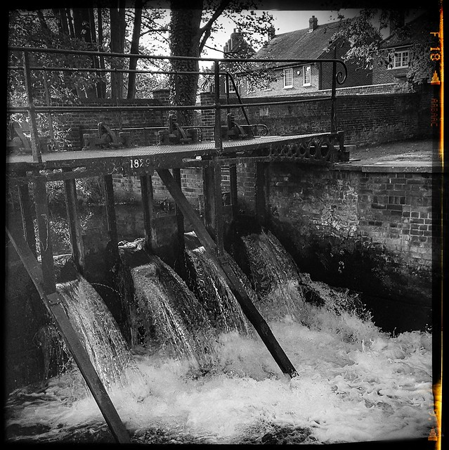Weir Gates, Canterbury.