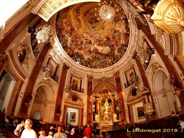 Basílica de la Mare de Deu dels Desamparats. Valencia