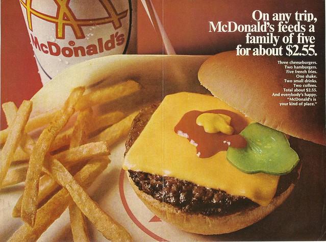 1968 Big Mac Advert