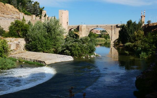 Algunas vistas de Toledo 03. Puente de Alcántara.