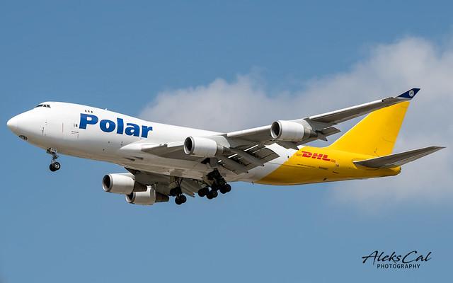 Polar / DHL B747-47UF N498MC