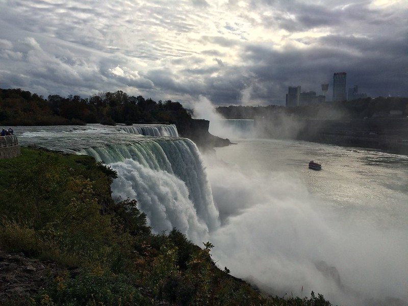 Autumn Niagara Fall