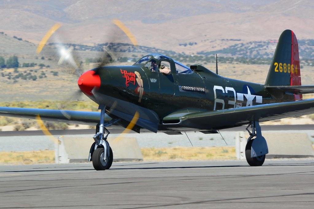 Reno Air Races 2018 - Bell P-63A King Cobra