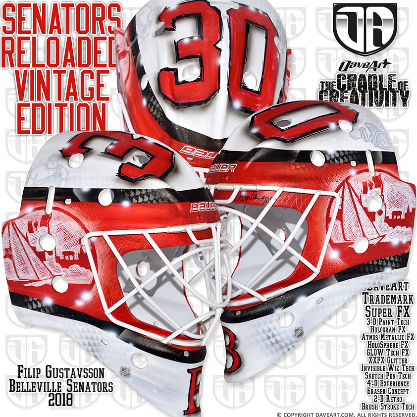 Senators Reloaded - Vintage Edition | Filip Gustavsson, Bell