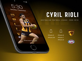 Cyril Rioli iPhone Wallpapers | by Rob Masefield (masey.co)