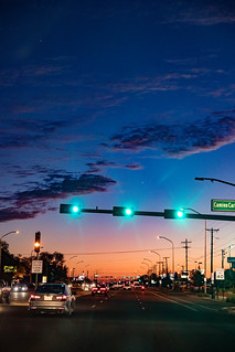 evening sky santa fe | by pkutheis