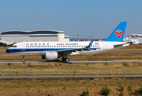 F-WWIQ Airbus A320 Néo China Southern | by @Eurospot