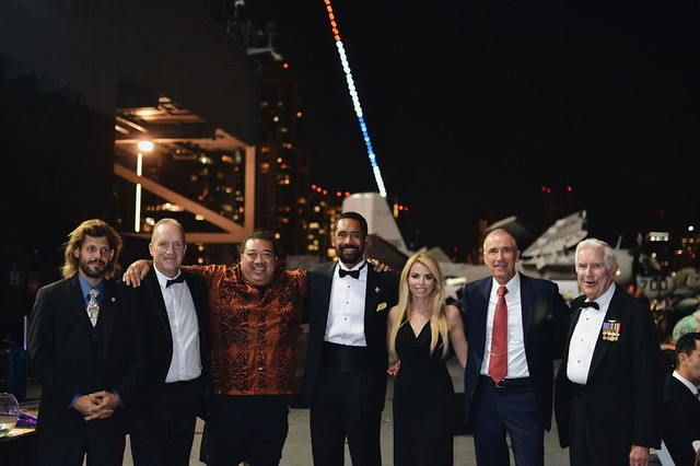 PAWS for Patriots Gala Aboard the USS Midway Museum