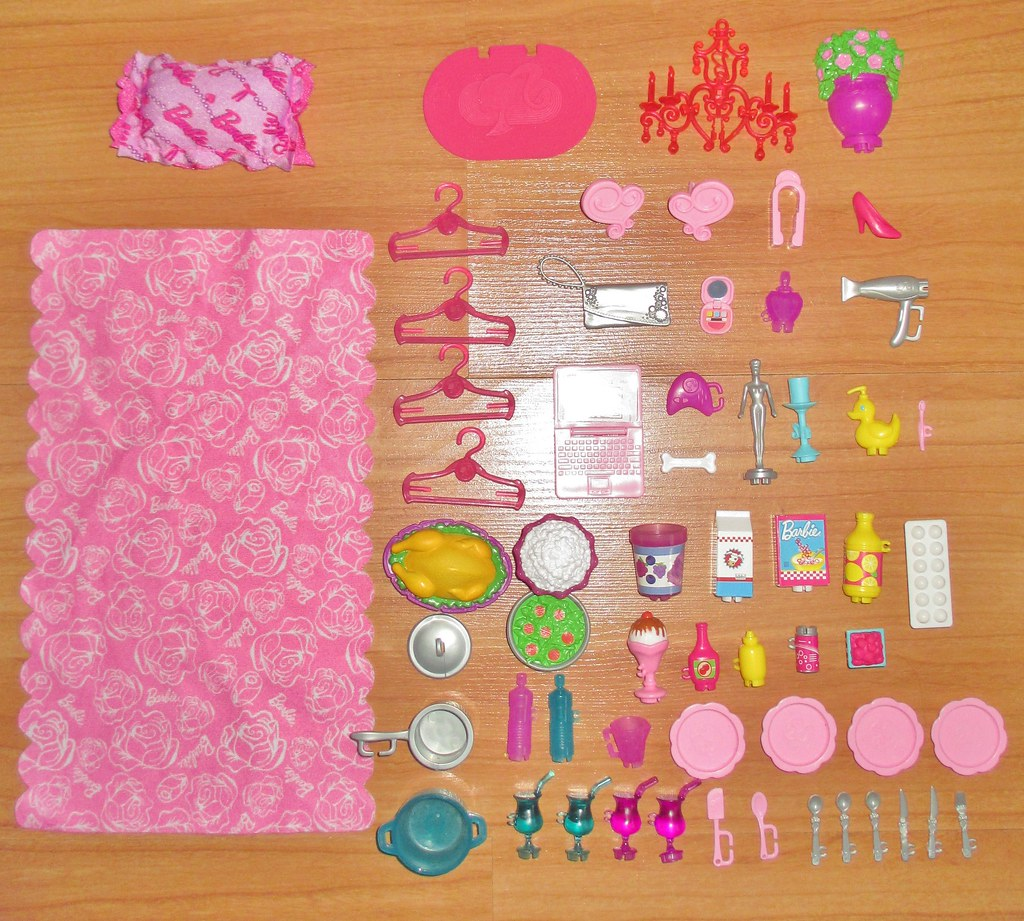 2013 Barbie Dreamhouse Accessories Box Date 2013 I Belie Flickr