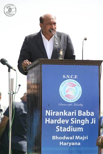 Vice President Indian Olympic Association, Kuldeep Vats