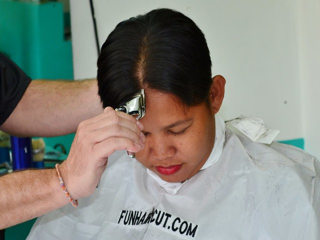 Girl forced headshave
