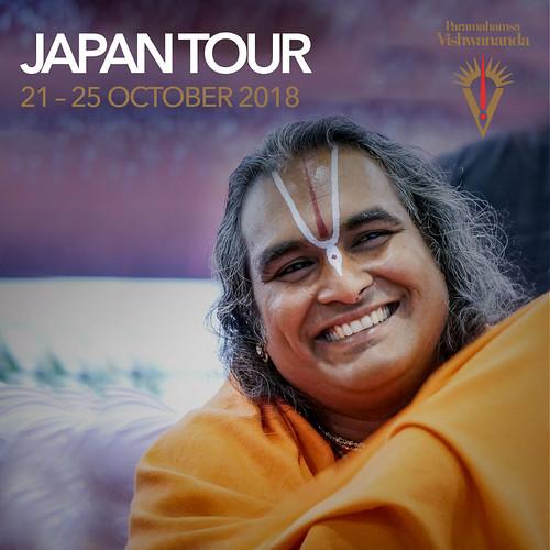 Japan Tour 2018 – Paramahamsa Vishwananda