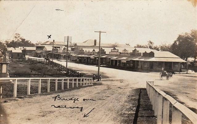 Main Street, Chinchilla, Qld - circa 1920