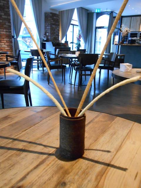 Breadsticks at La Bottega