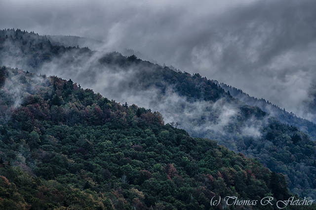 First Day of Autumn Highland Scenic Highway