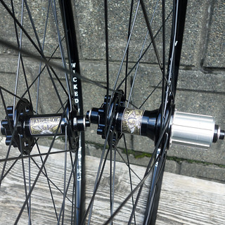 Wicked Wheel Works / 完組み Wheel Set for Disc Brake / 28H Front&Rear シクロクロス / チューブレスレディホイールセット | by starfuckers / Above Bike Store