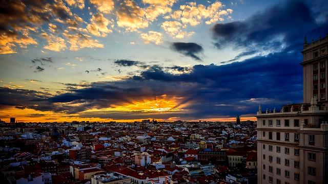 Amanece Madrid