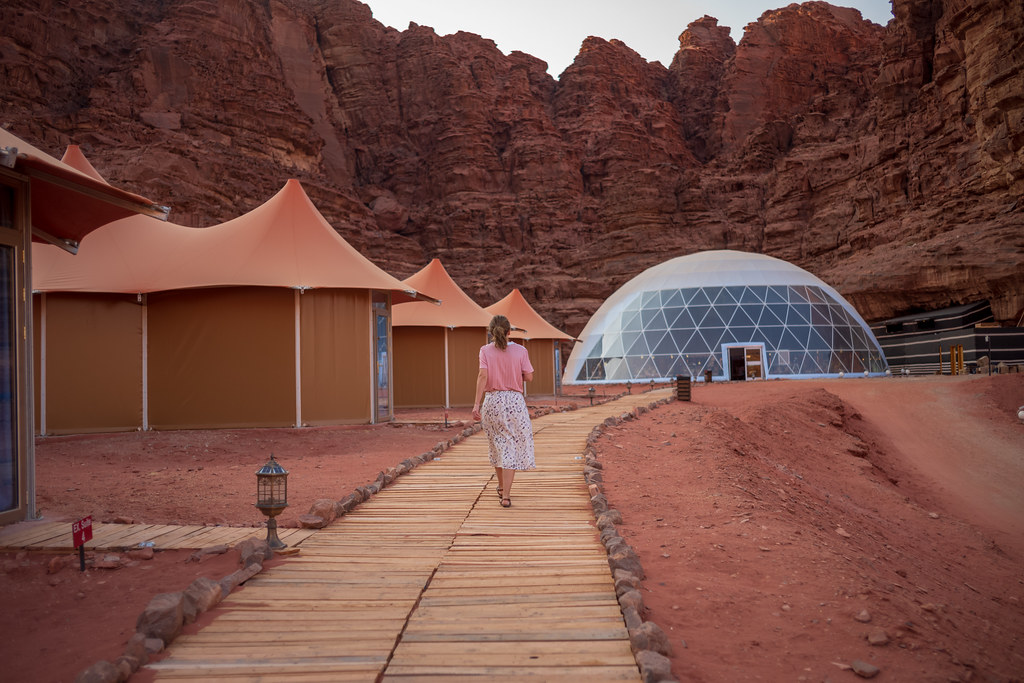 Placing future glamping facilities in the desert will typify the trend of glampers  seeking more remote authentic experiences and unusual  accommodation spaces.