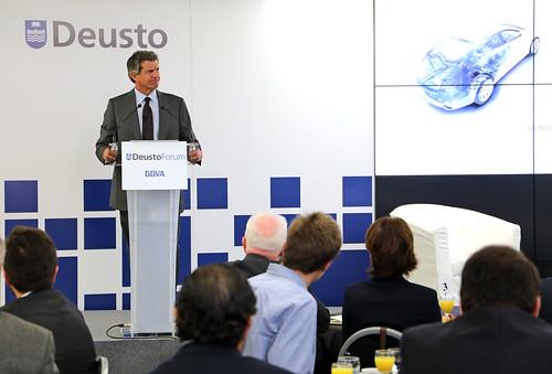 Conferencia DeustoForum del presidente de Gestamp Francisco J. Riberas