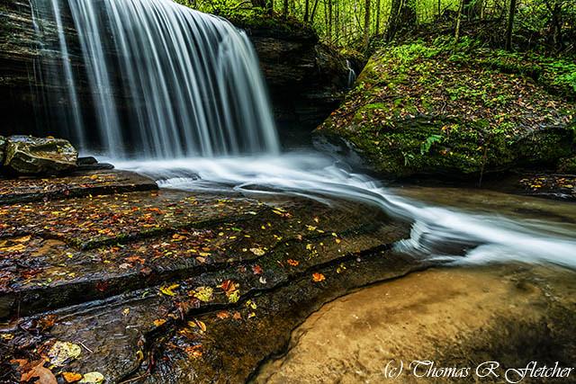 Barton Mill Run Waterfall