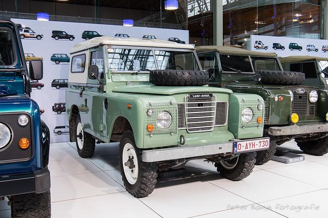 Land-Rover Series 3 88 SWB Hardtop - 1982