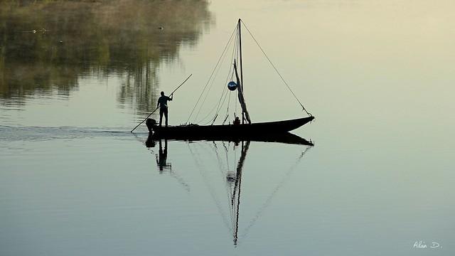 Le calme des petits matins sur la Loire