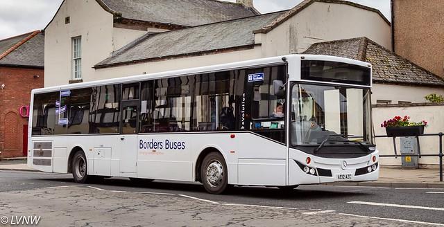 Borders Buses 11209: Mercedes Benz evolution AE12AZC