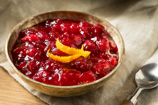 Sweet Homemade Cranberry Sauce