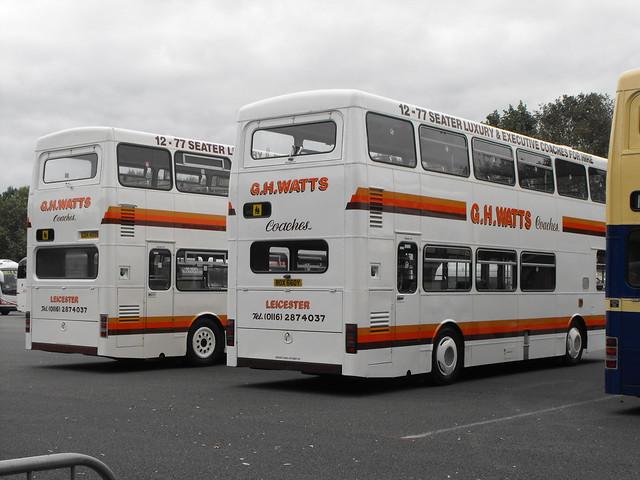 Ex-WMPTE MCW Metrobuses @ Showbus 2018 (2)